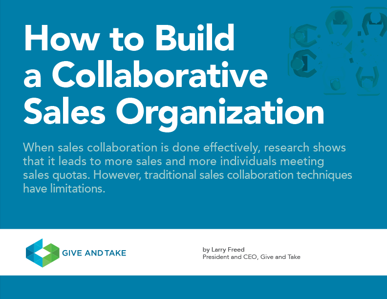 How to Build a Collaborative Sales Organization