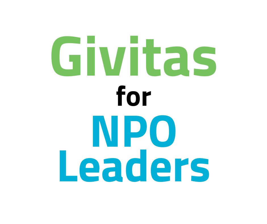 Givitas for NPO Leaders
