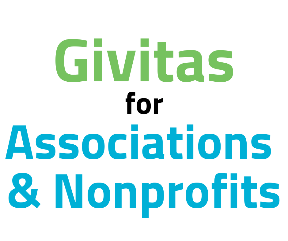 Givitas for nonprofits and associations